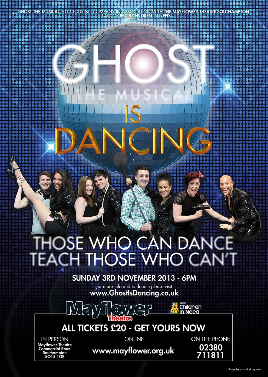 Ghost The Musical Is Dancing