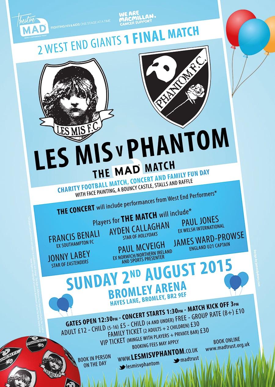Les Mis V Phantom: The MAD Match